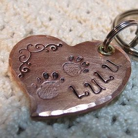 Dog Tag, Pet Id Tags, Pet Tags, Heart Dog Tag, Dog Tags for Dogs,Dog Name Tags,Pet Accessories, Custom Pet Tag, Unique Pet Tags,Pet Supplies by TAZZPETTAGS on Etsy https://www.etsy.com/listing/222243445/dog-tag-pet-id-tags-pet-tags-heart-dog