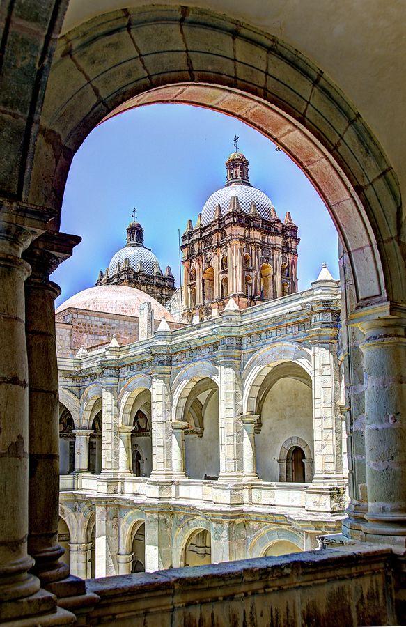 Church in Puebla, Mexico by Joe Routon