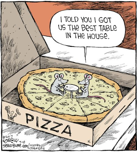 Speed Bump by Dave Coverly for Jul 10, 2017 | Read Comic Strips at GoComics.com