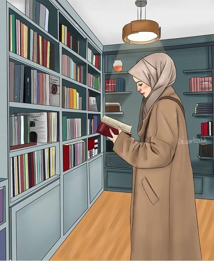 Untitled Hijab cartoon, Anime muslim, Islamic cartoon