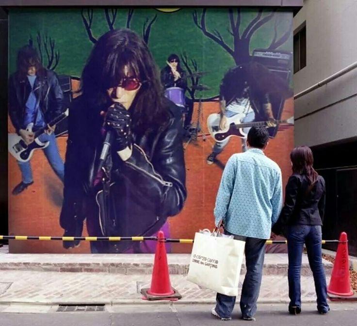 Ramones grafiti