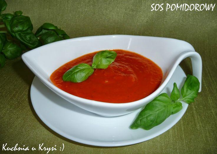 Kuchnia u Krysi : Sos pomidorowy, domowy