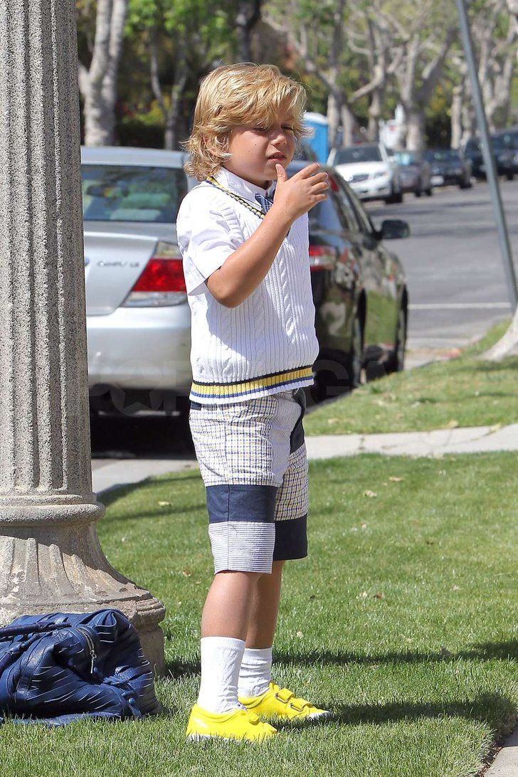 Gwen Stefani and Gavin Rossdale Take the Boys For Easter at Her ...