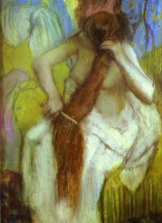 Wladyslaw Slewinski  Combing a Woman