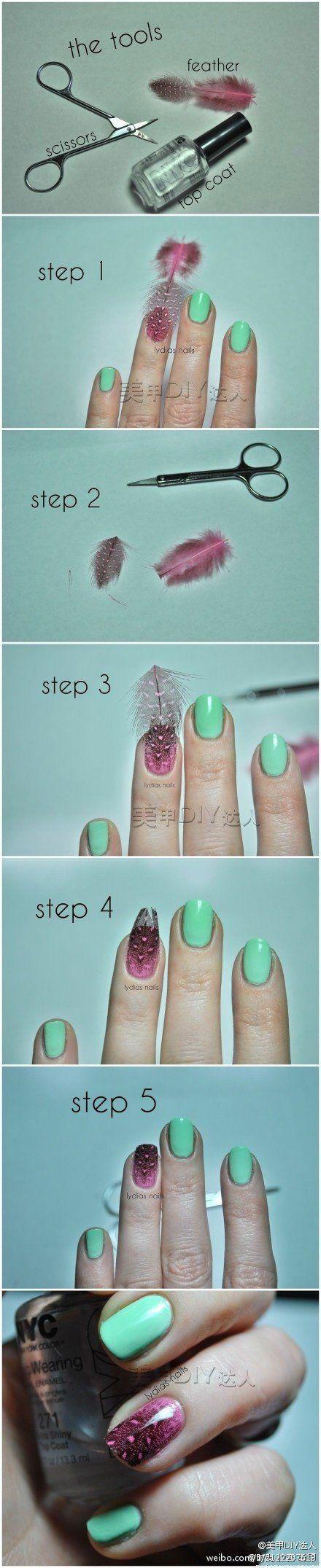 Diseños de uñas faciles paso a paso