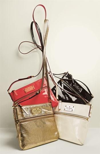 Kate Spade New York 'Flicker-Tenley' Patent Crossbody Bag