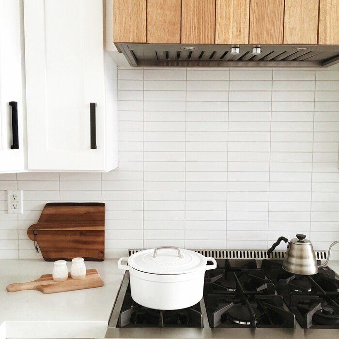 Retro Soho 2 X 8 Porcelain Subway Tile Subway Tile Tile Accent Wall Kitchen Tiles