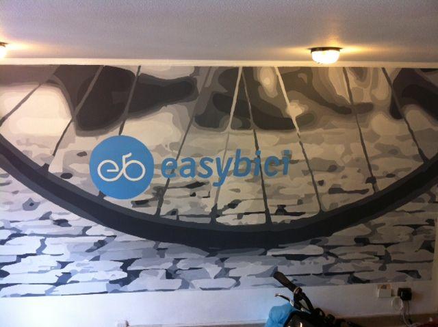 Mural Easy Bici