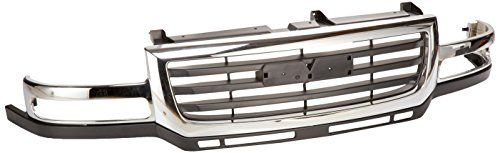 OE Replacement GMC Sierra Pickup Grille Assembly (Partslink Number GM1200568). For product info go to:  https://www.caraccessoriesonlinemarket.com/oe-replacement-gmc-sierra-pickup-grille-assembly-partslink-number-gm1200568/