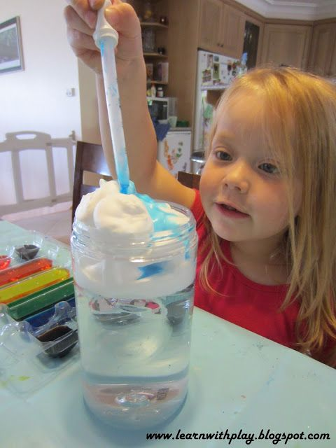 Cloud Jars~ This blog is an excellent source for preschool/early childhood teachers. Lots of science projects for kids & ideas to make learning time play time.