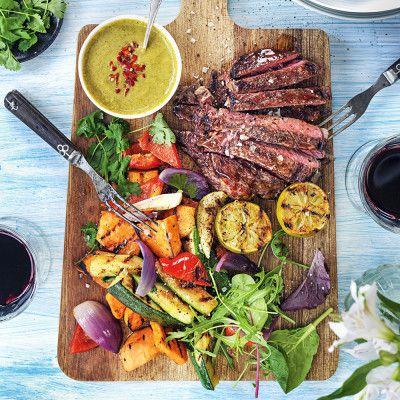 Det här är sååå gott! Världens bästa sommarmat med massor av härliga smaker. Fräscht!
