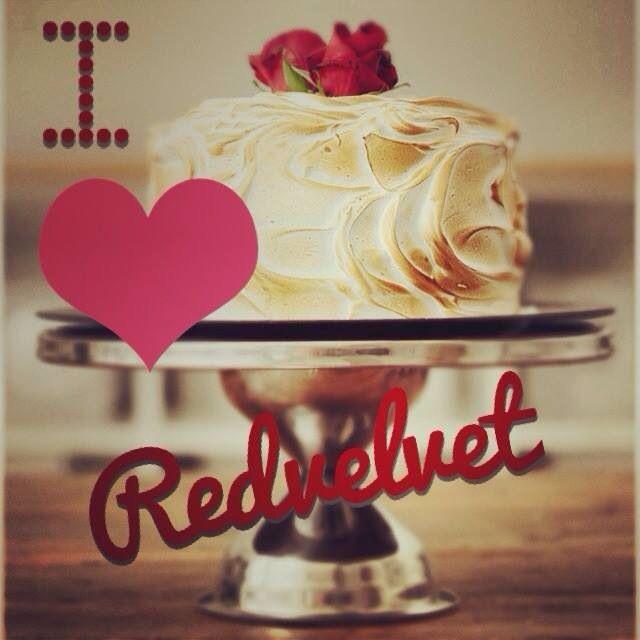 I love red velvet