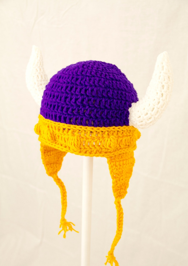 1000+ images about Crochet Minnesota Vikings on Pinterest ...