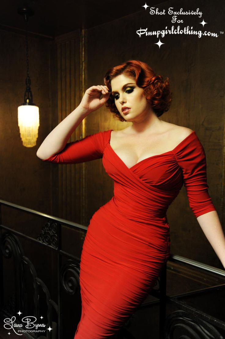 Hot damn, I want this dress. The Monica dress from Pin Up Girl Clothing.