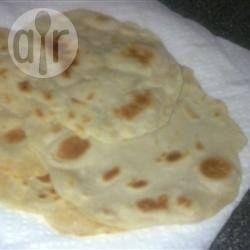 Foto da receita: Roomali Roti (pão indiano)