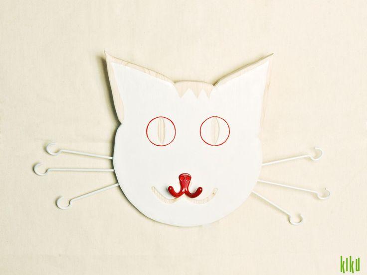 Cat hanger - a design created by Atelier KIKU.