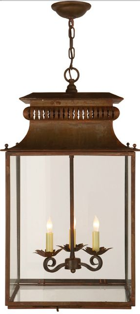 Copy Cat Chic find - Circa Lighting Lantern vs. Pottery Barn