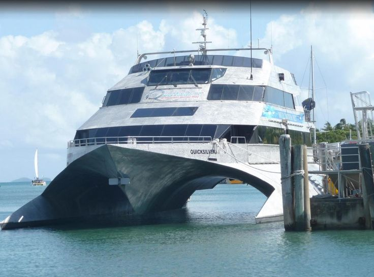 The Cairns Quicksilver reef tour. The tour has a small hint of James Bond to it.