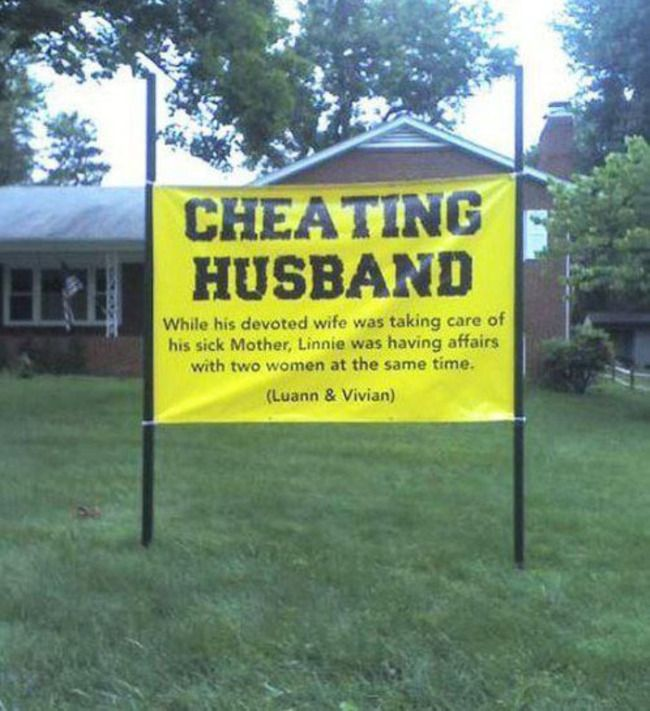 Common sense says you should never cheat on your partner, and obviously not if you are married. Your moral compass should not waiver in a marriage and if