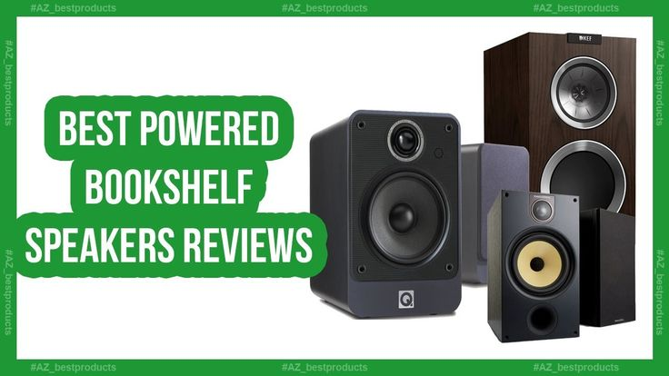 Best Bookshelf Speakers 2018 - Top 5 Best powered bookshelf speakers rev...