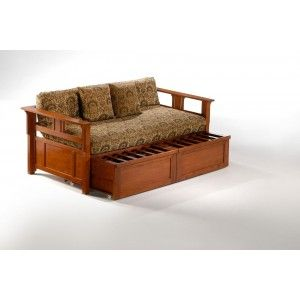 teddy roosevelt daybed by night and day is simple yet beautiful solid wood daybed with optional trundle guest bed also the optional extension drawers let