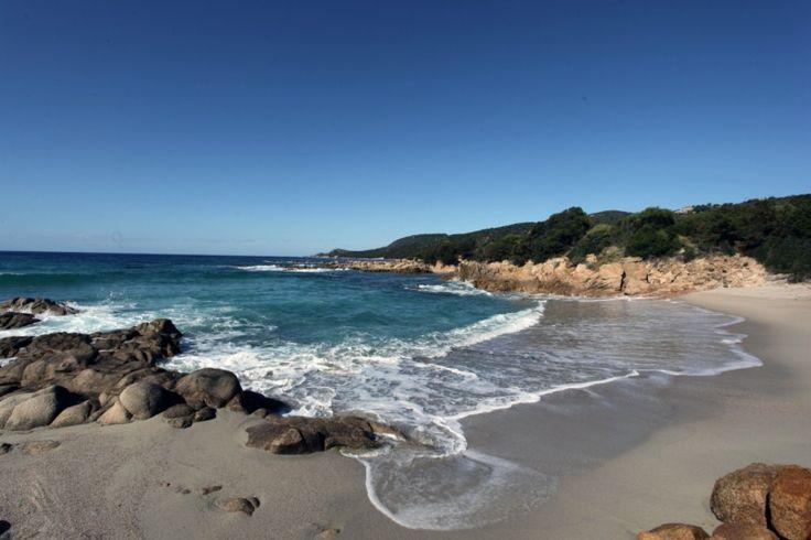 Corsica - Plages de Corse du Sud - La plage de Cala d'Orzu est l'une des plus…