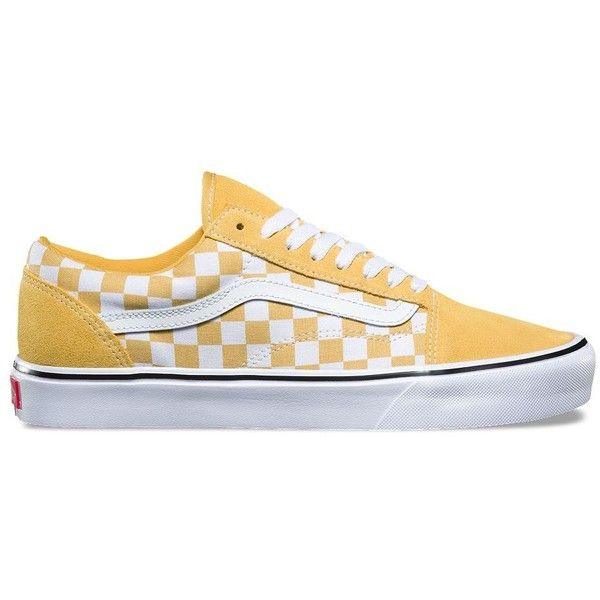 Vans Suede Canvas Old Skool Lite ($65) ❤ liked on Polyvore