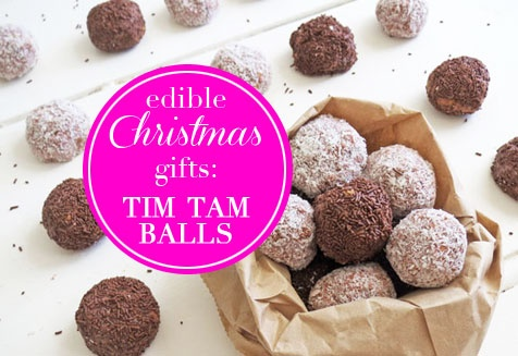 Oh. Oh dear. Tim Tam Balls. So good. Click for #recipe - Only three ingredients!
