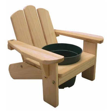 Found it at Wayfair - Kid's Adirondack Chair Planter