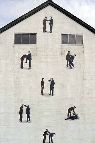 Escif street artist based in Valencia, Spain Urban art / 19 Street Artists To Keep An Eye On (via BuzzFeed)