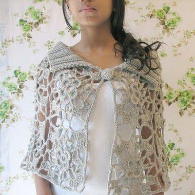 Crochet Inspiration ~ Japanese cape/poncho