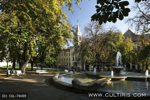 Pécs Szent István tér