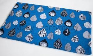 ART COLLECTION- krople blue- dresówka