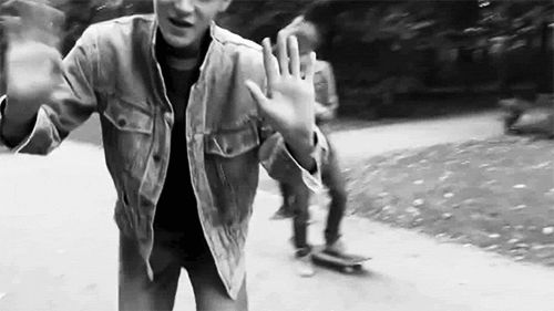 """Imagine: """"Tao waving at you while he is skateboarding with his friends"""" - That will be a hot hot thing to happen ;)"""