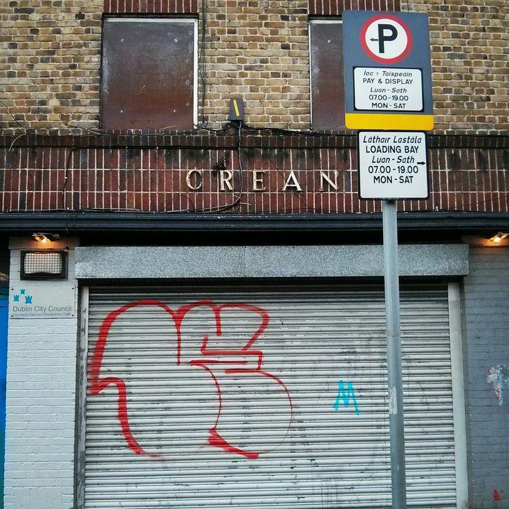 Crean ghost sign, Dublin