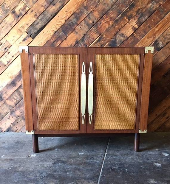 New Mid Century Bar Cabinet