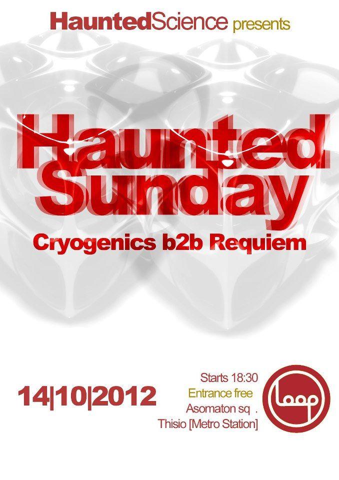 Cryogenics & Requium [GR] October 2012, Athens
