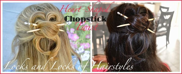 Serrures et verrous de coiffures: Tutoriels vidéo rapides et faciles: Coiffure Twist Chopstick & Giveaway - #chopstick #hairstyles #locks #quick