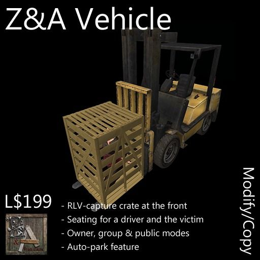 Z and A Vehicle (Forklift)