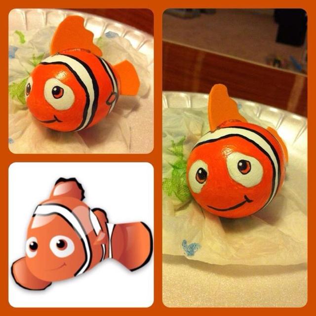 Nemo! its an egg