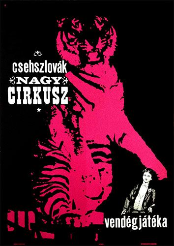 Czechoslovakian Grand Circus (1964) - 235 USD until 2015 September 30 at Budapest Poster Gallery! (original price: 260 USD)