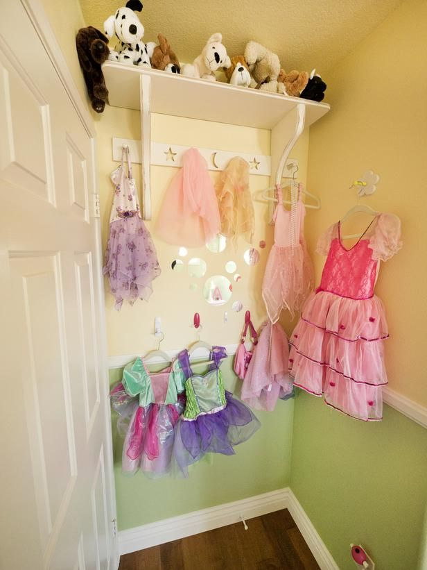 Little Girls Dress Up Area