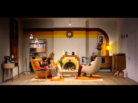Watch 100 years of evolving living room design in just over 1 minute