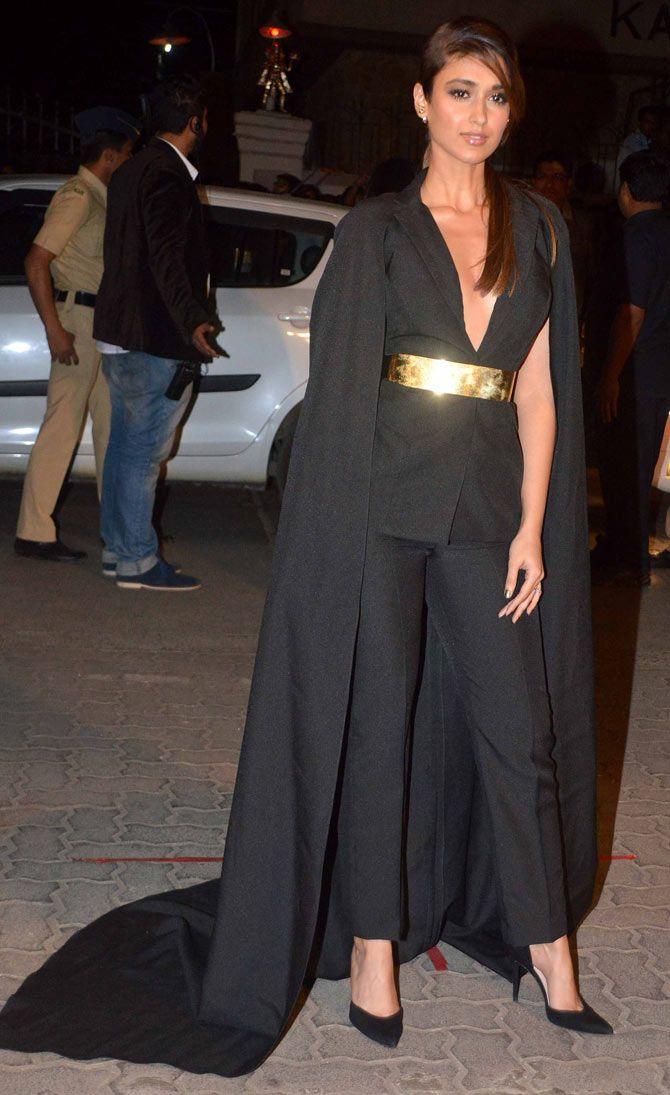 Ileana D'Cruz at the 60th Filmfare Awards 2014.