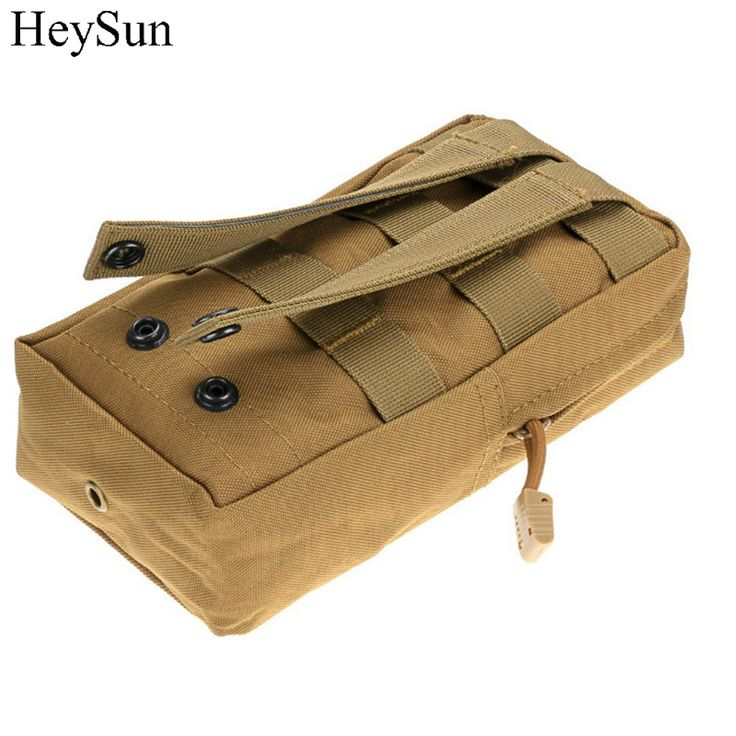 Multi-Purpose Tactical Pouch MOLLE EDC Utility Gadget Pouch Outdoor Military Hunting Camping Climbing Waist Pack 4colors #Affiliate