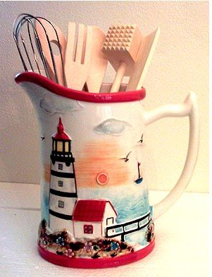 Nautical Pitcher U003c3u003c3. Lighthouse DecorLighthouse KeeperNautical  KitchenKitchen ...