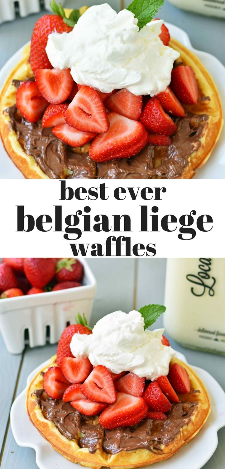 Best Belgian Liege Waffles. How to make homemade liege waffles from scratch. The popular liege waffles seen at Waffles N Dinges in New York City and Waffle Love in Arizona can be made at home. www.modernhoney.com