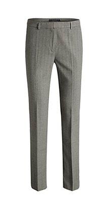 Pantalon doux et velouté, motif à chevrons