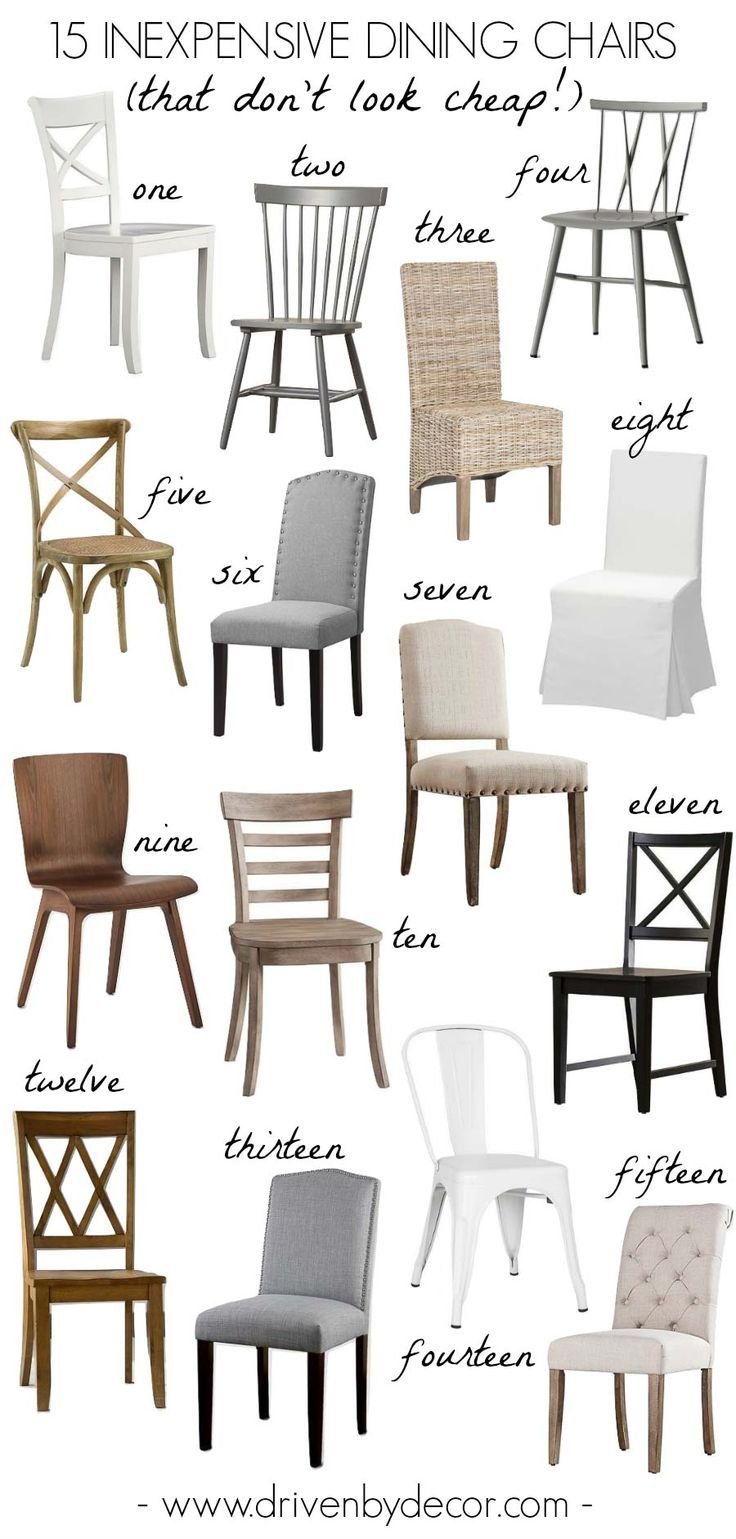 Cheap Dining Chair 15 Inexpensive Dining Chairs That Don T Look Cheap Home Decor
