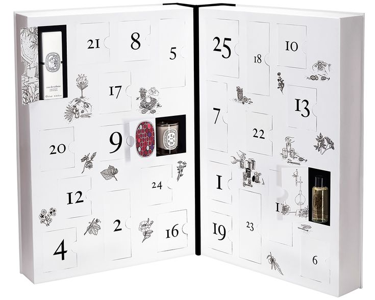 Diptyque advent calendar 2015                                                                                           More